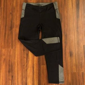 Champion Black and Gray Workout Leggings